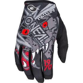 ONeal Mayhem Gloves MATT MCDUFF SIGNATURE gray/red